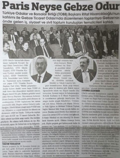 23.03.2018 HEDEF GAZETESİ